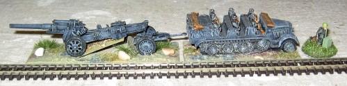 15cm Motorised Artillery Battalion