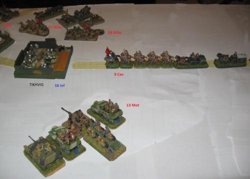 Soviet offensive against TIKHVIG